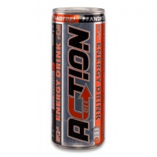 ACTION Energy Drink 250ml Dose, pfandfrei