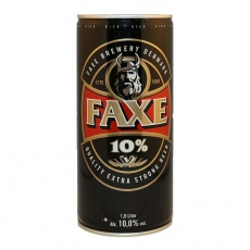 Faxe Extra Strong 10% Vol. Alk. 1 ltr. Dose (inkl. Pfand)