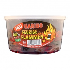 Haribo feurige Flamme- 150 pro Dose
