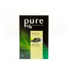 PURE Tea Selection Grüner Tee mit Lemon 25x2g