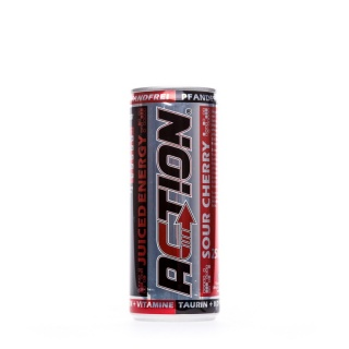 ACTION Energy Drink Juiced Cherry Pfand Frei Je Dose 250ml
