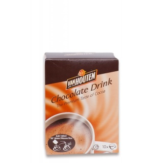 Van Houten Chocolate Drink Portion Sachets 10 x 23 g
